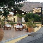 Terrace of the Restaurant Delizia.