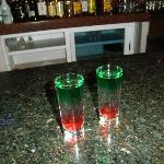 mexican Flag shots!