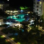 Beautiful night view from our room
