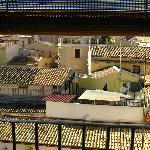 panorama sui tetti di Ortigia dalla camera