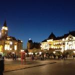 Piazza principale di Novi Sad, a pochi metri dall'Hotel Putnik