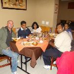 Last night dinner at Rasoie