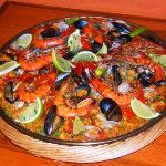 Traditional Homemade Paella