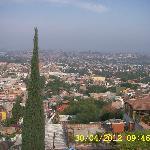 Magnífica vista desde la terraza