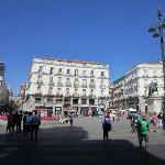 Puerta Del Sol, Madrid, Espana