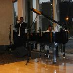 Music in the lobby
