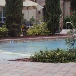 la divina piscina agua caliente,salada rica cascada para masajes...ah y el jacuzzi excepcional