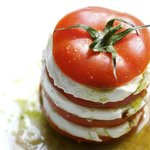 Caprese Salad with Homemade Mozzarella