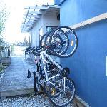 More bike storage