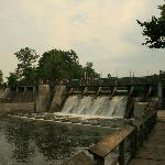 Dam at Hamlin Lake