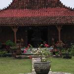 View Garden Flower area Teras Depan