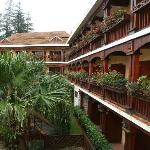 Balconies Overlooking Hotel Garden