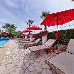 espace détente piscine - chauffée du 1er avril au 30 octobre