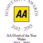 Bodysgallen Hall, AA Wales Hotel of the Year, 2012/13