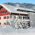 Unser Erlebnisgästehaus im Winter