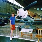 Yours truly with Bf109