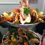 plateau de fruits de mer délicieux!