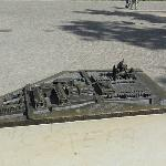Model of the island