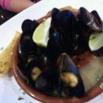 mussels blanco (with a few already eatten)