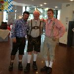 iBis Hotel Munchen Staff and me