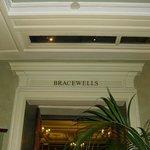 Bracewells inside of Park Lane Sheraton
