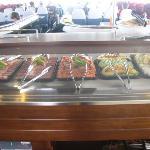 Wonderful buffet lunch