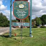 The sign in front of the Inn