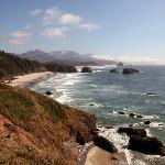Cannon Beach seen from Ecola State Park