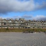 Stephanie Inn from the beach