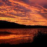 Sundown on the sundays river