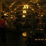 The Pier restaurant at Halcyon, take a shuttle between Sandals to see all three