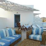 The balcony (honeymoon suite)