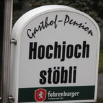 Gasthof Pension Hochjochstobli Foto