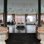 The Spa 'waiting area'