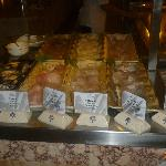 One of many selections on offer in the buffet restuarant