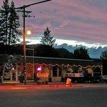 Twisp River Pub Sunset