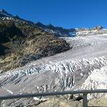 Walk inside the Rhone glacier