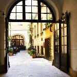 Golden Deer - Courtyard