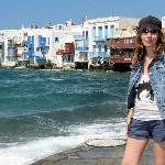Maria at Little Venice, Mykonos
