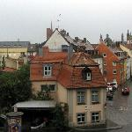 View towards the old town from our window