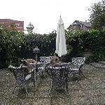 Outside patio/ Garden area