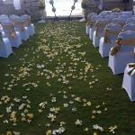where the wedding ceremony was held!!! Beautifull....