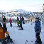 Wintersport in Peer Gynt Rike