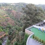 panorama dalla terrazina sul rio corgo