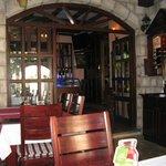 Интерьер ресторана, очень уютный