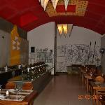 Restaurent dinning area