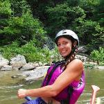 """Raft guide Kristi """"Pocahontas"""""""