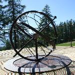 Le Globe Terrestre au début du sentier