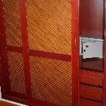 The un-sliding wardrobe doors