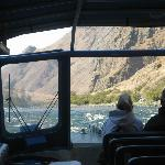Killgore's Jetboat going up Hells Canyon